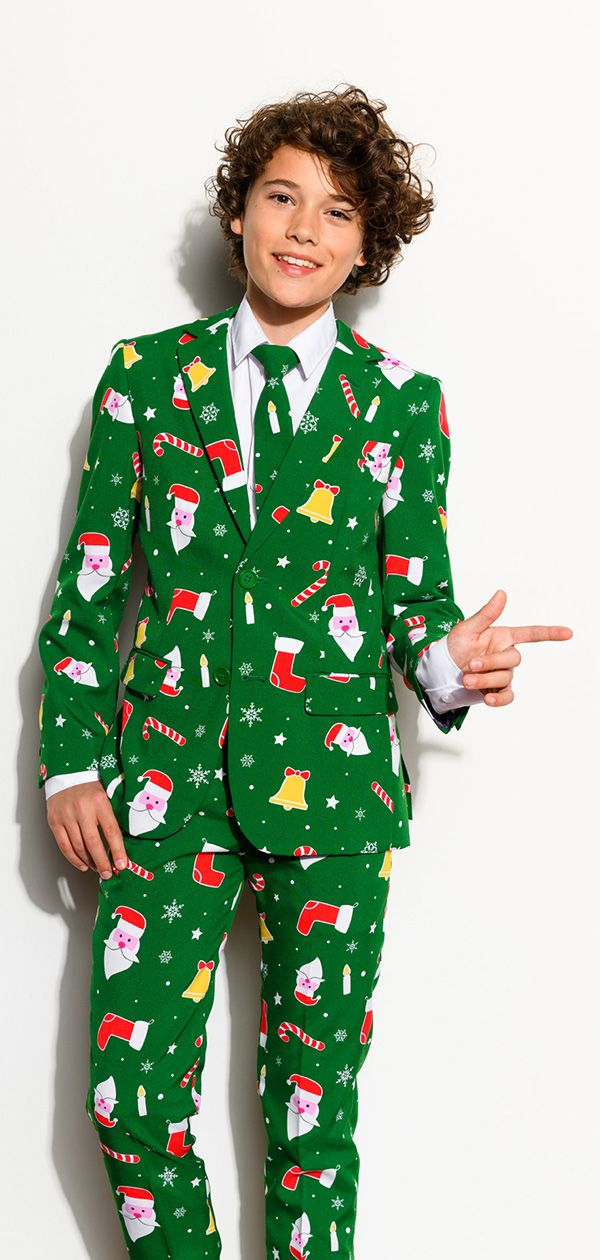 1086b4562d7c37 Christmas costume with the suit from OppoSuits Ugly Christmas Sweater Suit,  Christmas Suit, Kids