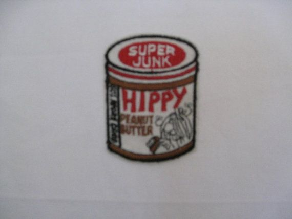 Hippie peanut butter  vintage patch  sewon and never by crazicandi, $3.00