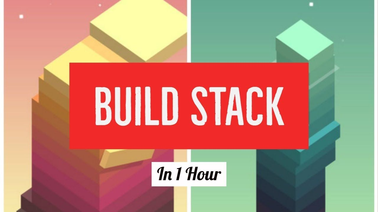 Build Stack (the mobile game) with Unity in under 1hour