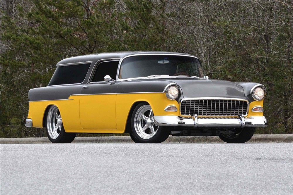 1955 Chevrolet Nomad Custom Wagon 1955 Chevrolet Chevrolet