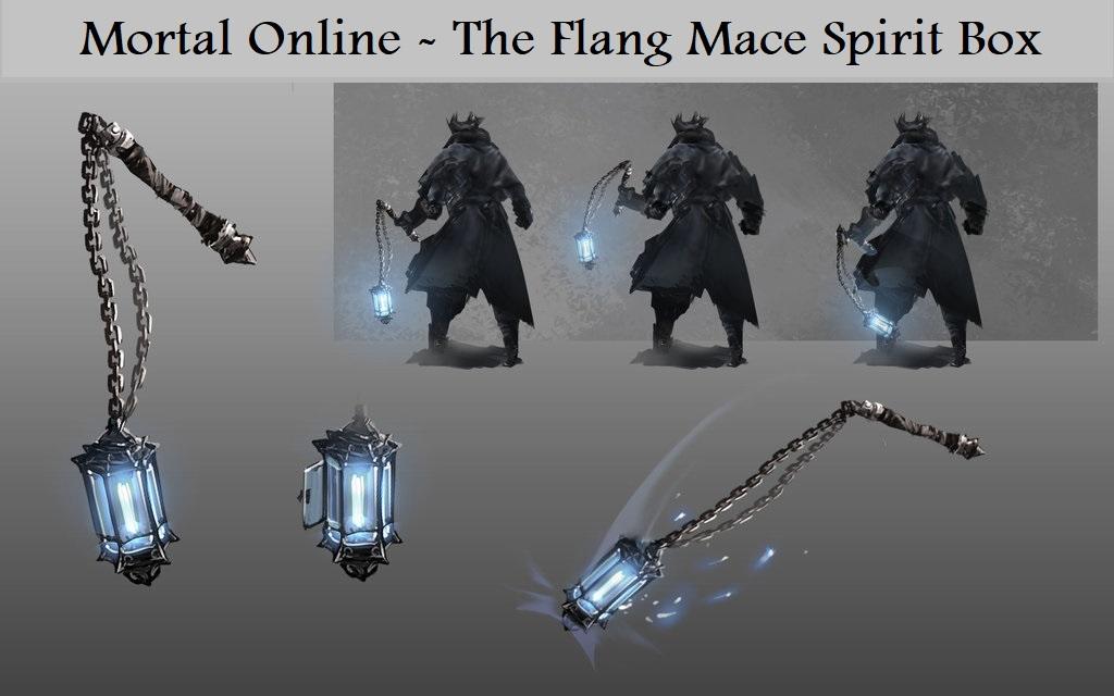 Spirit Box Weapon - Mount spirit box to weapon like mace