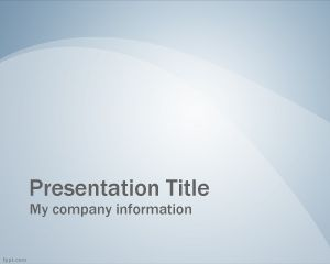 This Free Blue Professional Slide Powerpoint Background Template