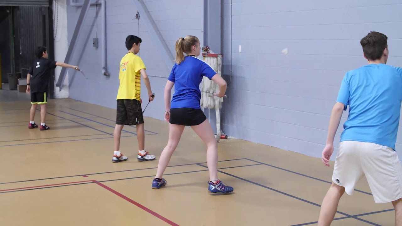 Play Better Badminton The Wall Drill Coach Andy Chong Badminton Drills Badminton Badminton Sport