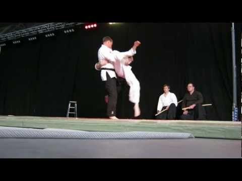 Jujutseura Naattijoiden näytös Feel Your Movement 2012 -tapahtumassa.