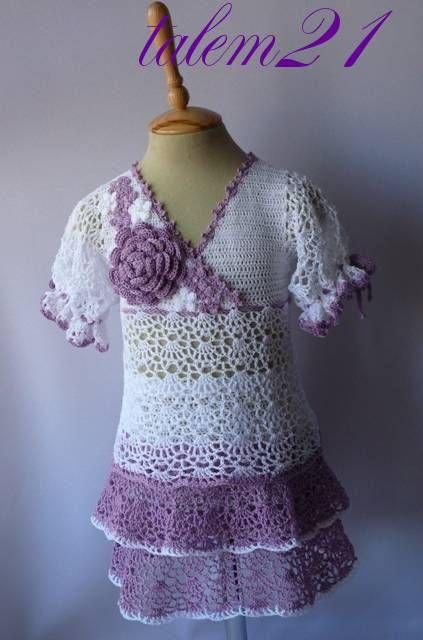 Crocheted Dress Free Pattern Tutorial So Girly Crochet Kids