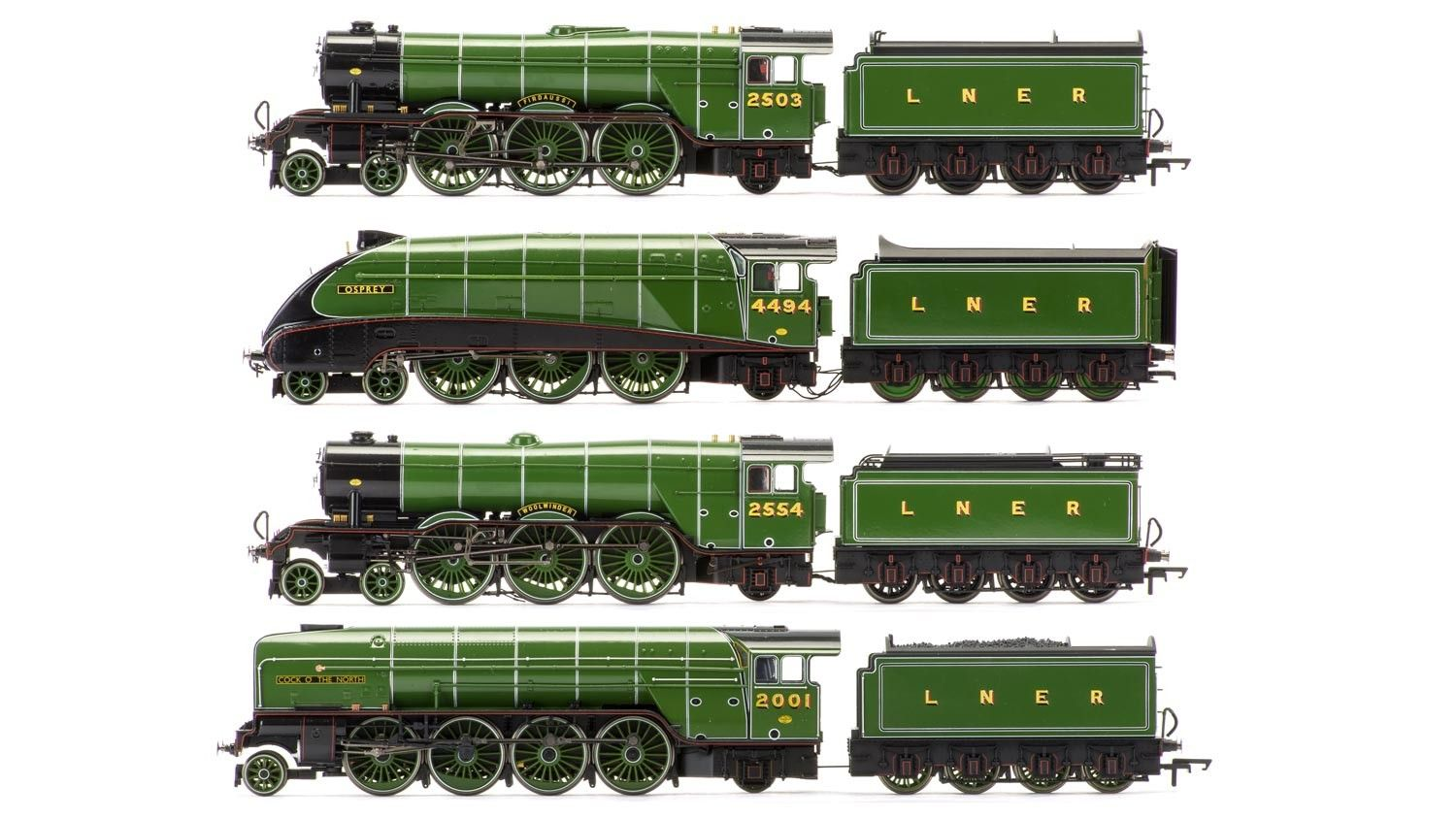 The Sir Nigel Gresley Collection - Limited Edition Gloss Finish - Hornby US