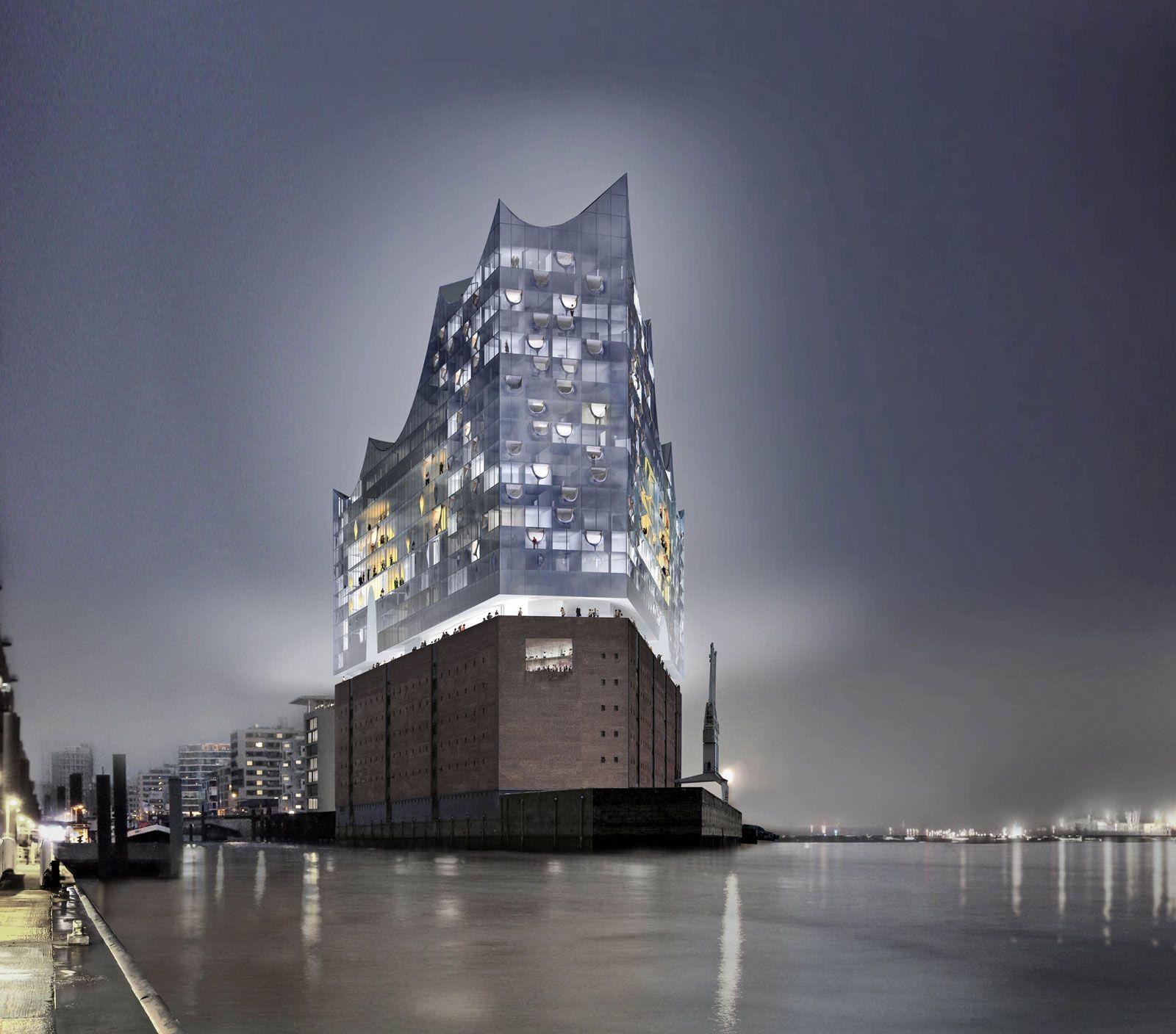 Elbphilharmonie Hamburg Herzog De Meuron Ideasgn Concert Hall Hamburg Elbphilharmonie Hamburg