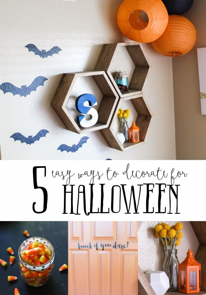 5 easy ways to decorate for Halloween! Just Artifacts Halloween - when should you decorate for halloween