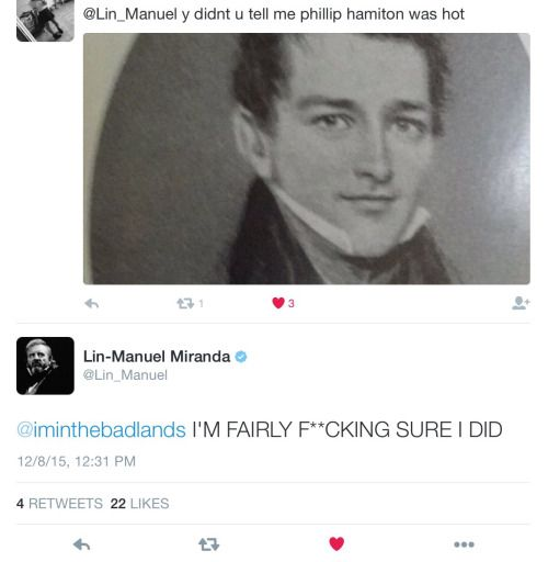 trashofhamilton: Philip Hamilton is always looking hot af. Lin-Manuel Miranda is my lord and savior, thank you LMM.