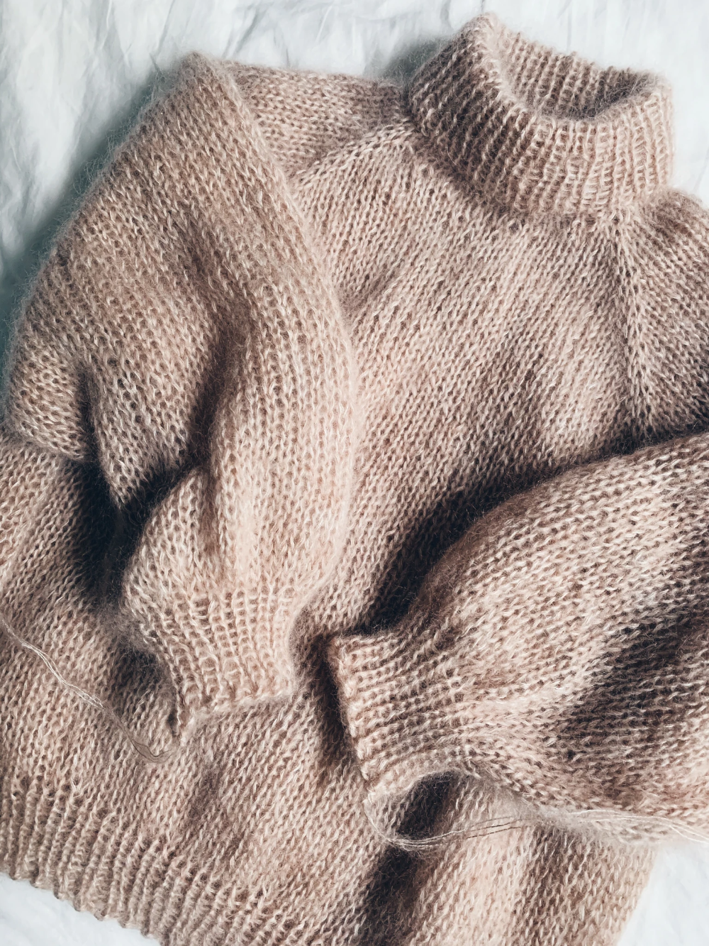Photo of Madeline Sweater x Mohair English – Mille Fryd Knitwear
