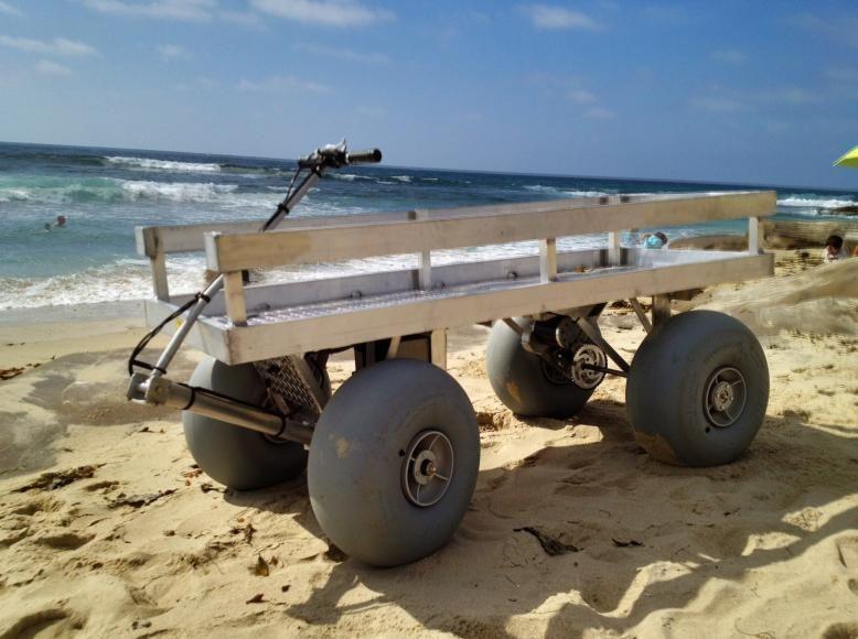 Beach Wagon Beach Wagon Has 19 Inch Wheeleez Low Pressure Beach