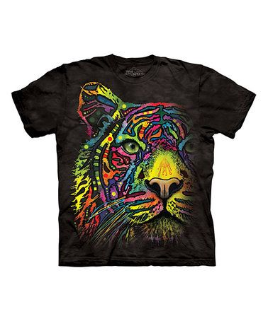 Another great find on #zulily! Black Rainbow Tiger Sublimated Tee - Toddler & Kids #zulilyfinds