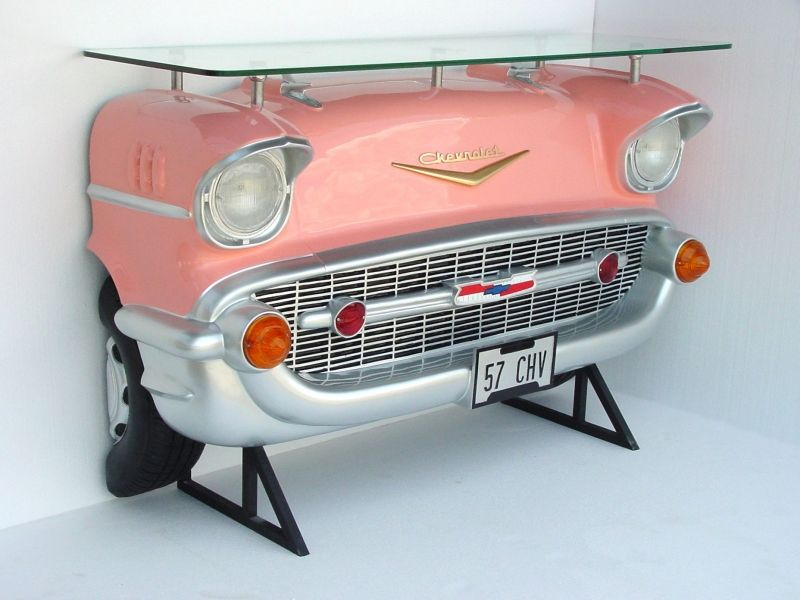 Chevrolet Checy Car Bar Table Pink $1,624.00 This Would Be Cool By The Hot  Tub! Part 93