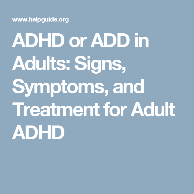 Add in adult and treatment