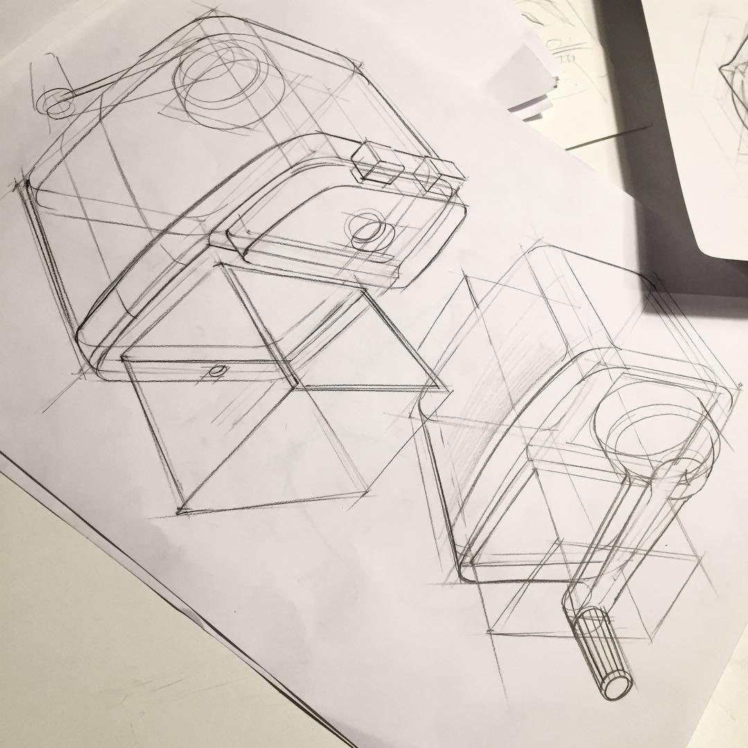 Design Industriel Agence De Design Croquis En Noir Et Blanc Dessin Numerique