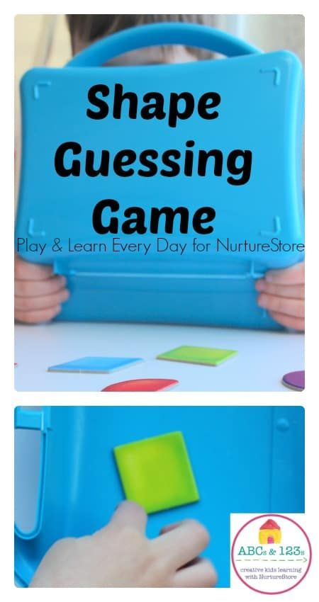 Photo of Shape guessing game for toddlers and preschool and beyond