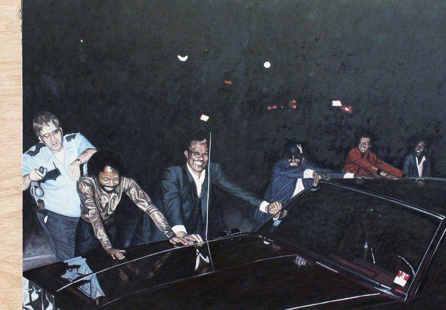 Painting by Robert Reid Porter.