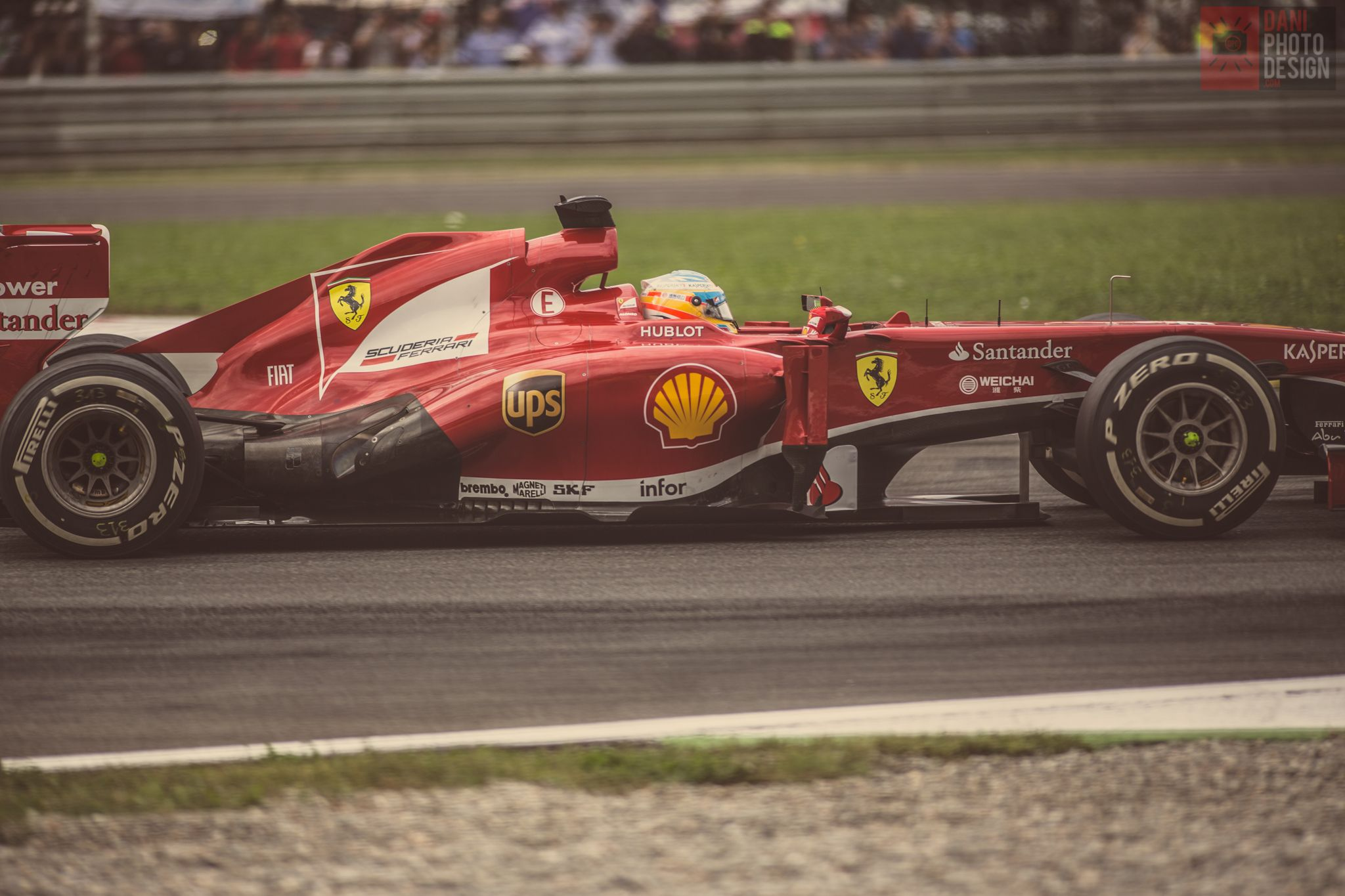 Formula 1 - Fernando Alonso - Ferrari - GP Monza - daniphotodesign.com