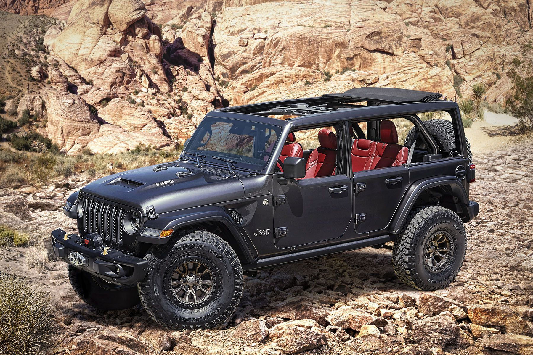 Jeep Reveals Wrangler Rubicon 392 Concept With 450 Hp V8 In 2020