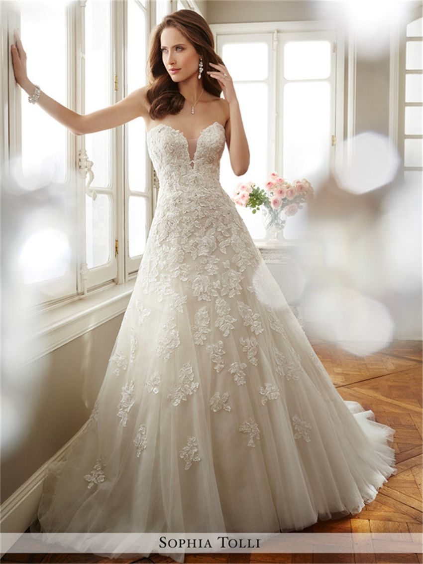 Sophia tolli spring wedding dresses collection dress
