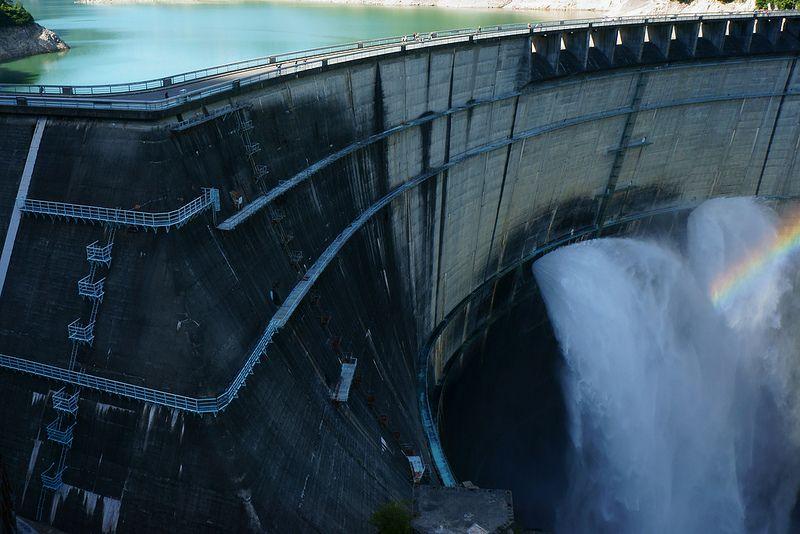 """黒部ダム(""""Kurobe Dam"""")"""