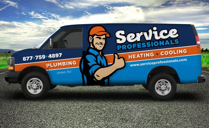 Truck Wrap And Branding For Unionnj Based Hvac And Plumbing Company