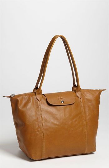 Longchamp  Le Pliage Cuir  Leather Tote  05a153f36d363