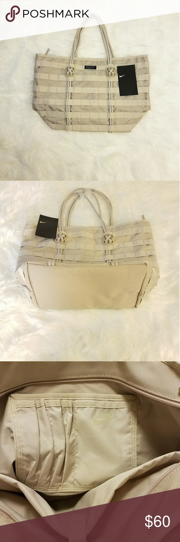 b91454bebd0c Spotted while shopping on Poshmark  NWT Nike Sportswear AF1 Tote Bag!   poshmark  fashion  shopping  style  Nike  Handbags