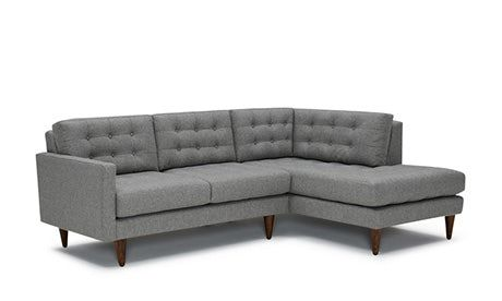 Eliot Leather Chair Sofas For Small Spaces Sectional Sofa Leather Sectional Sofas
