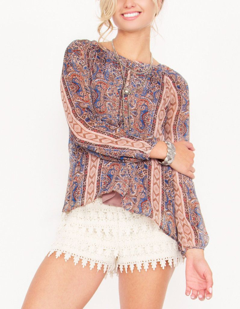 f26f1c79a2cb4 We love this easy to wear floral boho inspired dress.