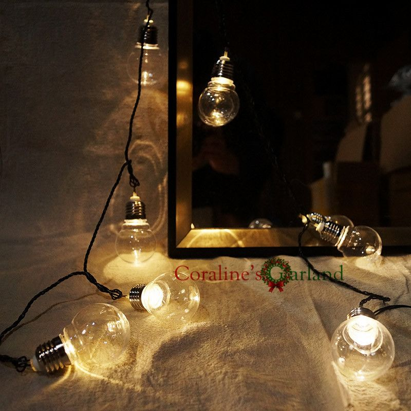 Merveilleux Novelty 20 LED 6M Clear Globe Festoon Party String Lights Connectable  Christmas Lights Holiday Garland Lights