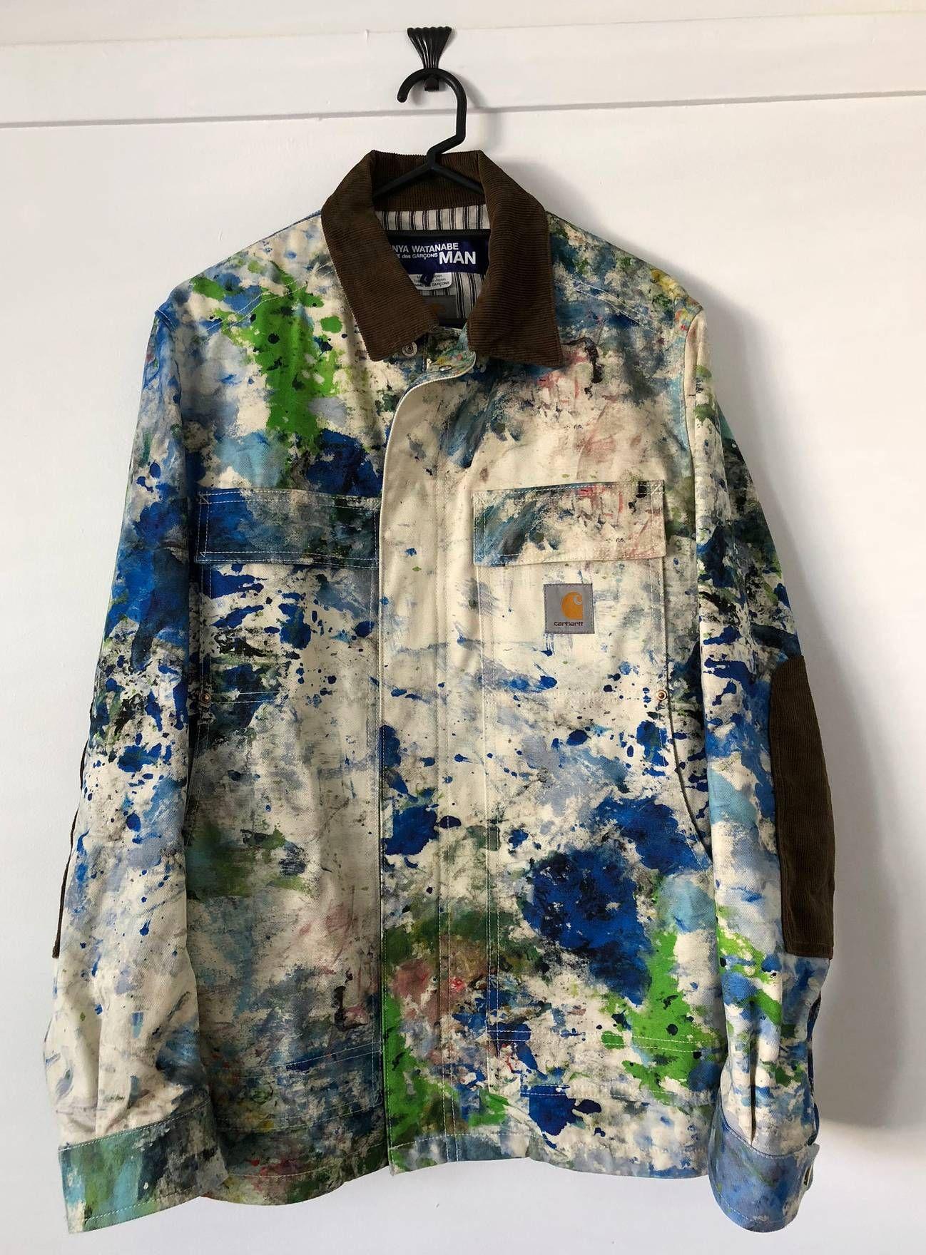 75cd5c8e2a6 Junya Watanabe Junya Watanabe x Carhartt Paint Jacket Size US L / EU 52-54