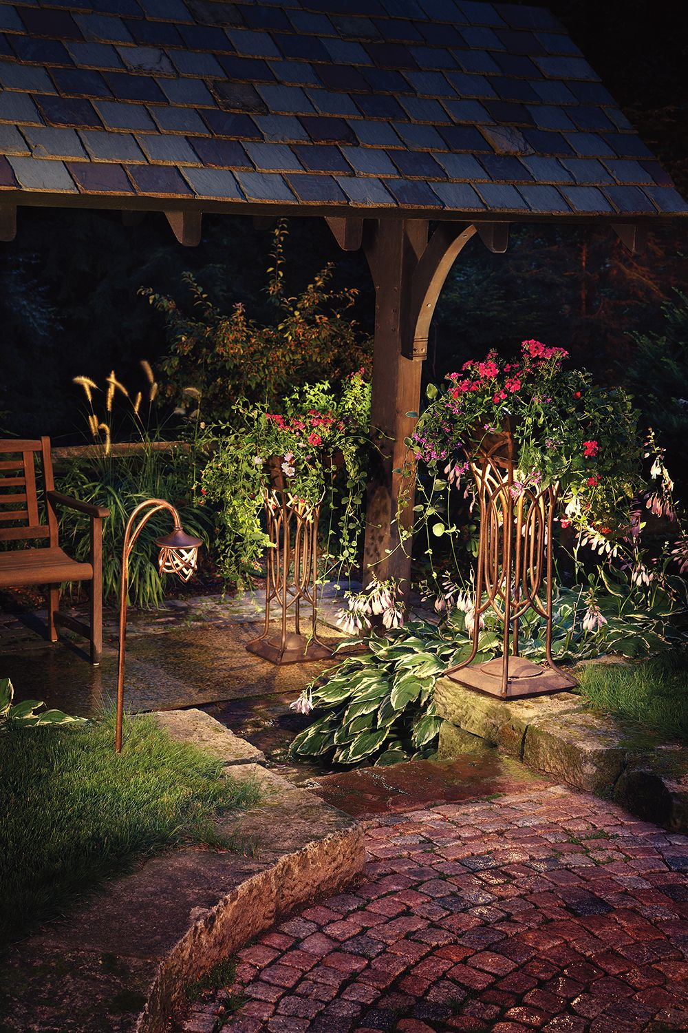 Garden lighting by Unique Outdoor Illumination & Mosquito Pros ...