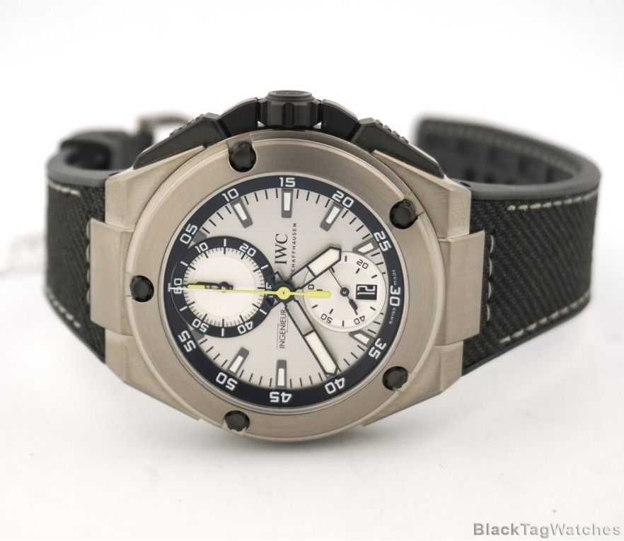 IWC Ingenieur Titanium Chronograph Edition Nico Rosberg 250 Limited  IW379603 #IWC #LuxuryDressStyles