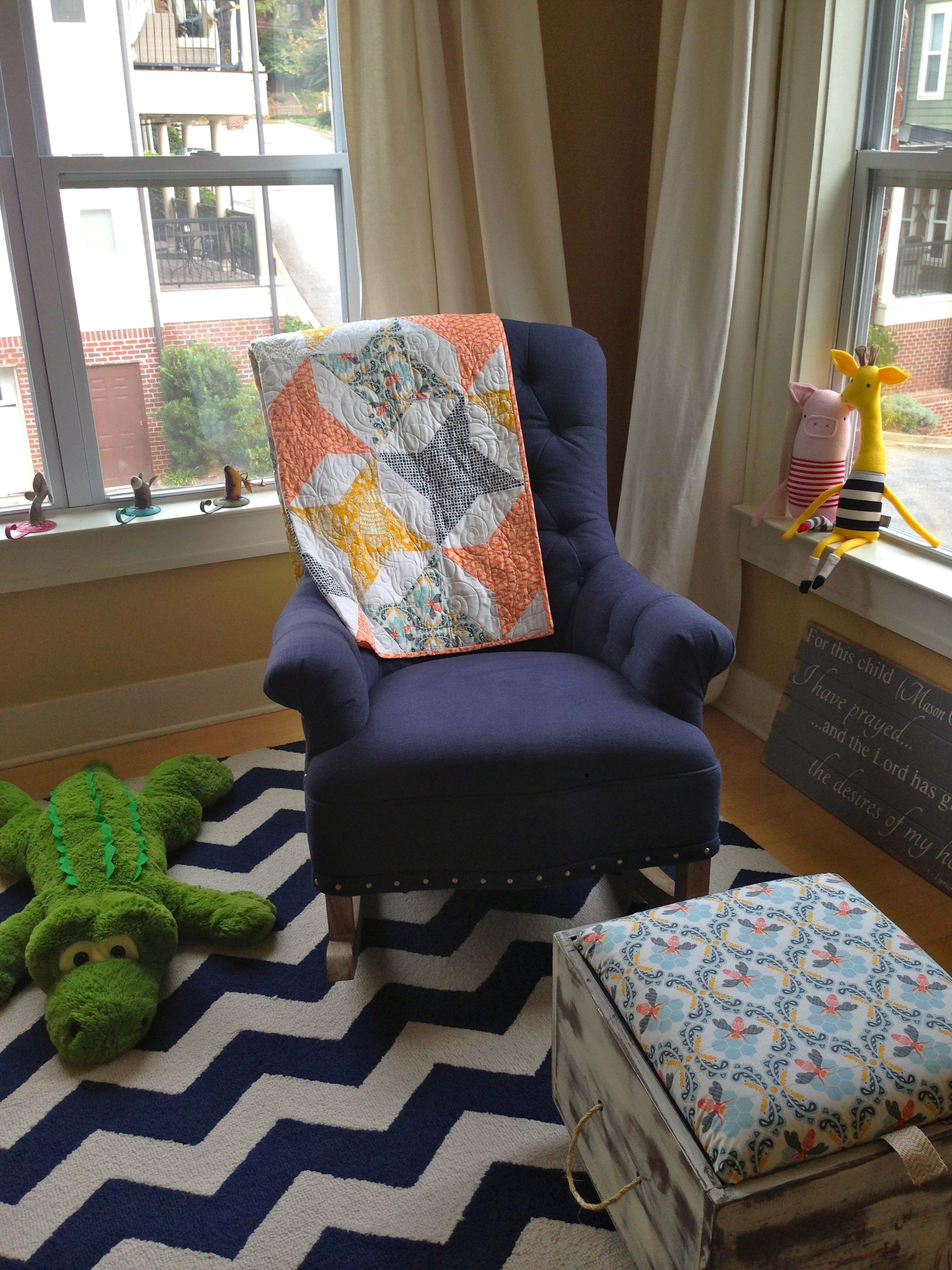 Love Our Star Quilt Featured In Jenn S Nursery Photo By Photographer Toni Bouton Greenville Sc