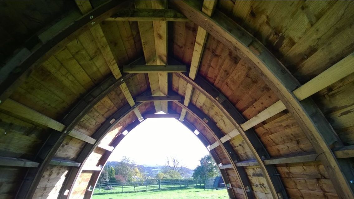 Gothic Arch Shed Brain Never Stops Pinterest