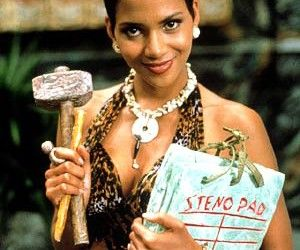 Most Embarrassing Past Movie Star Roles - Halle Berry in The Flinstones!