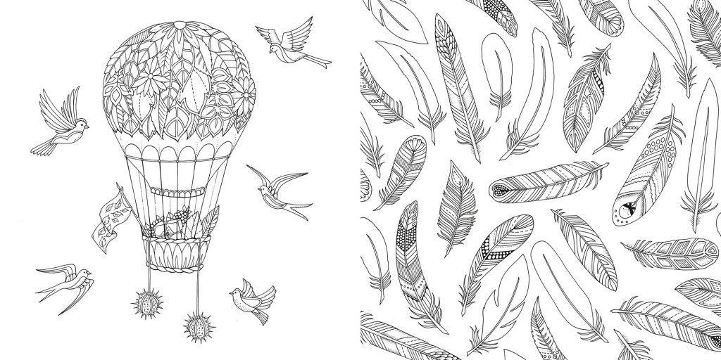 Livro Jardim Secreto Floresta encantada para colorir