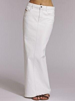 Diesel Denim Maxi Skirt | Denim skirts | Pinterest | Diesel denim ...