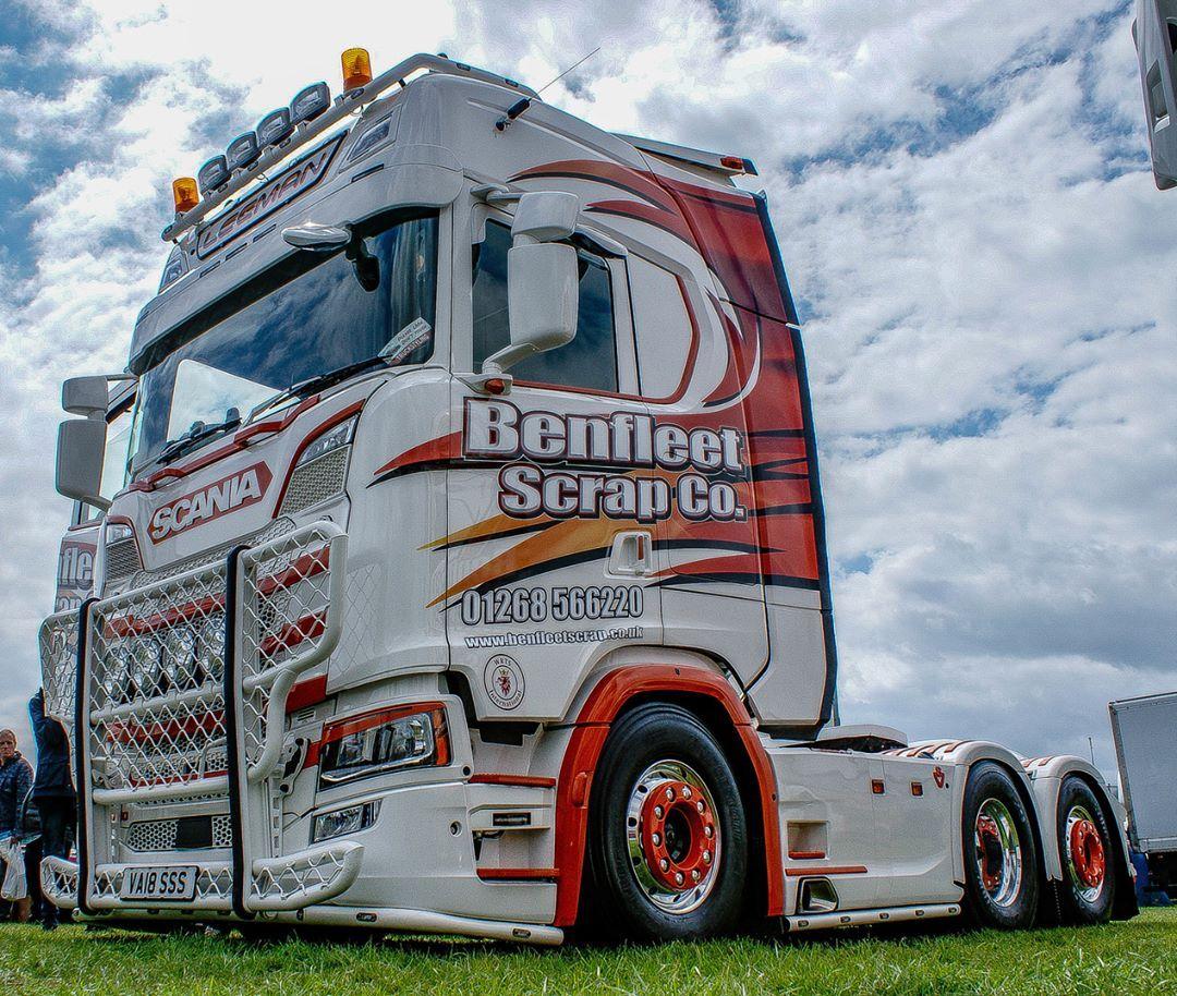 truck_photos_uk - Benfleet Scrap Co  Next Gen Scania #scania