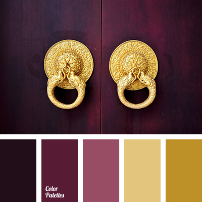 color palette 2269 color shades wine and dark