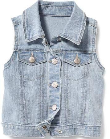 f84aba47a1351b sleeveless jean jacket kids - Google Search
