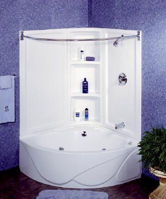corner tub shower combo 1600 bathroom pinterest