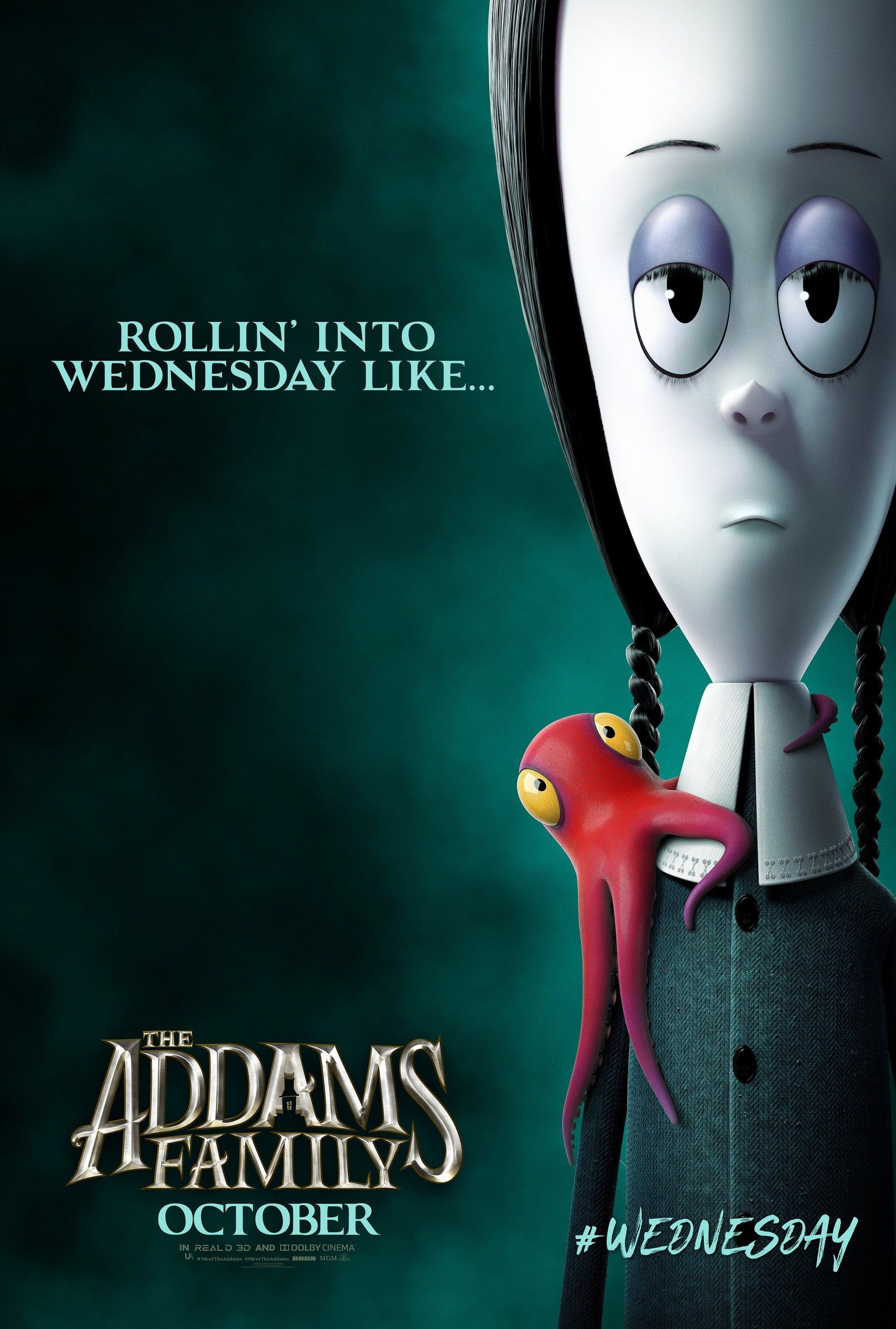 New Giclee Art Print 2019 Movie Lobby Card Poster The Etsy In 2021 Addams Family Movie Addams Family Poster Addams Family