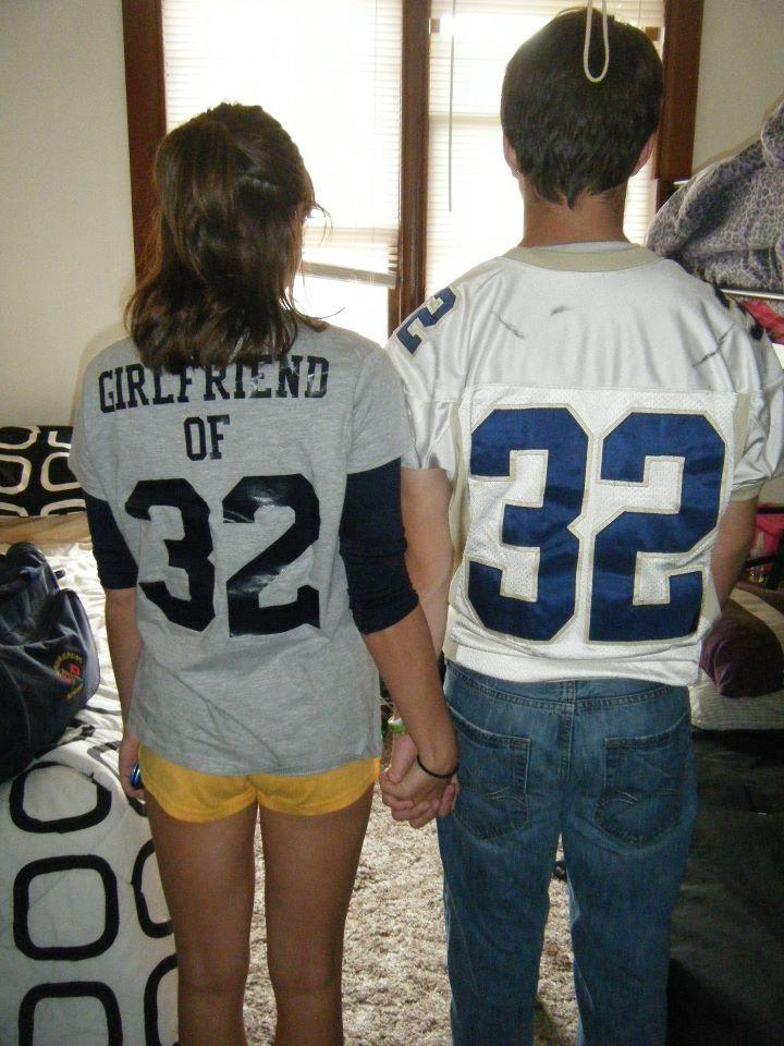 Another Cute Boyfriend Girlfriend Idea 2 2 Football