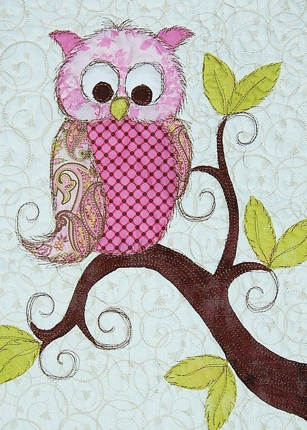 iQuilt Longarm Quilting Service | Portfolio | Quilting | Owl