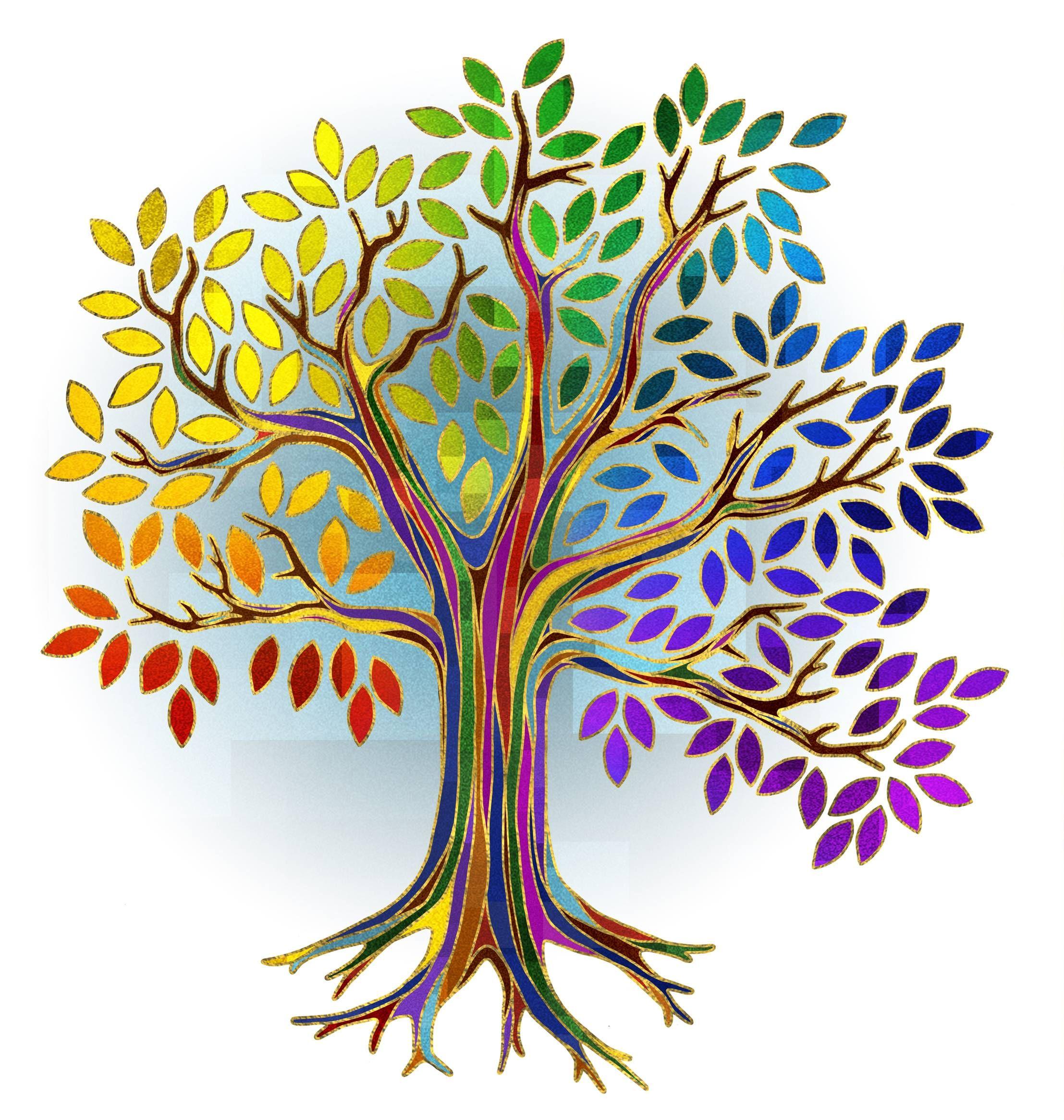 Стилизация дерево картинки