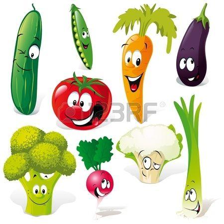 Stock Photo Fruta Divertida Festa Infantil Frutas E Desenho De