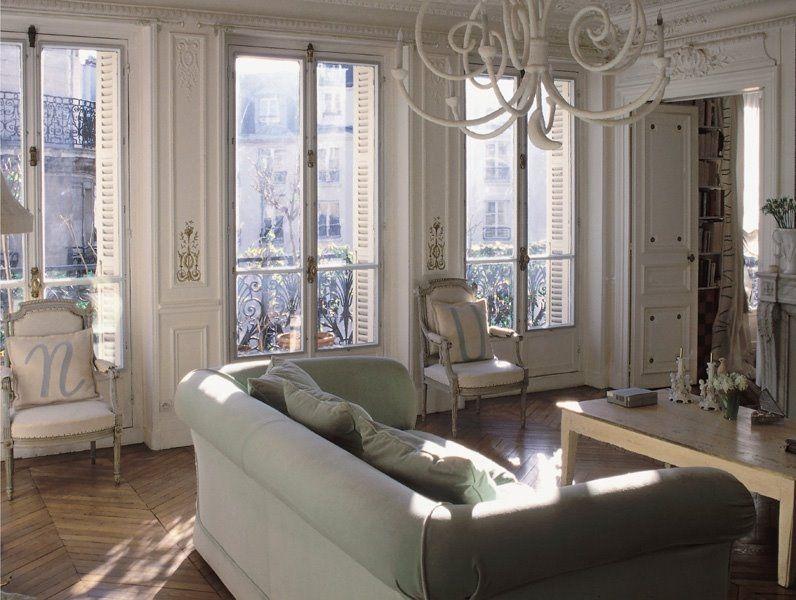In queste foto uno splendido esempio di soffitti con - Soggiorno in francese ...