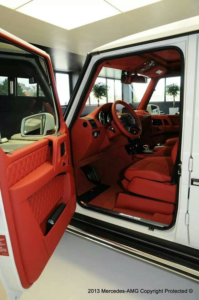 G 65 Amg With Images Dream Cars Luxury Car Interior G Wagon